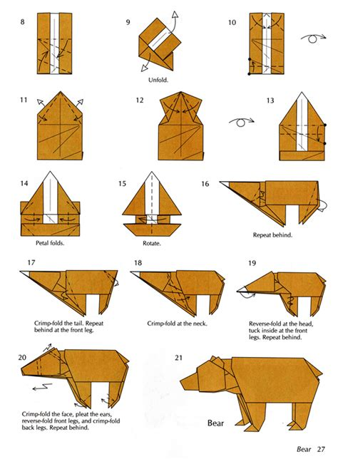 pattern origami free origami patterns browse patterns