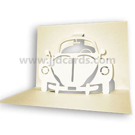 how to make a car card car pop up card images