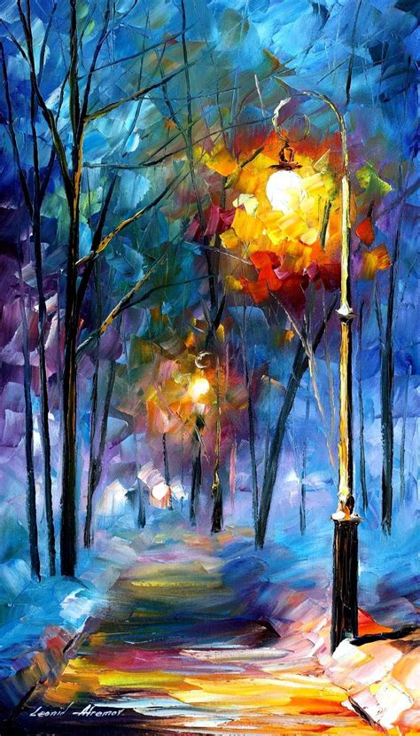 paint nite canvas size light of luck palette knife painting on canvas by