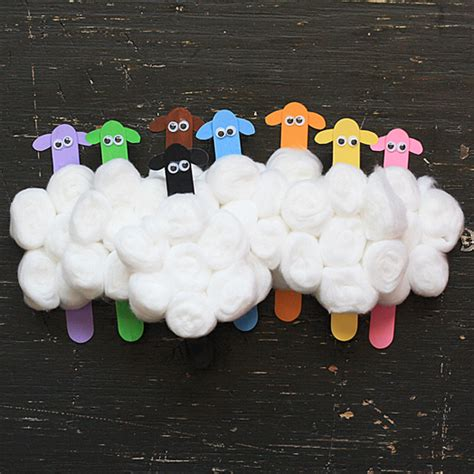 sheep crafts for cotton balls archives family craftsfun family crafts