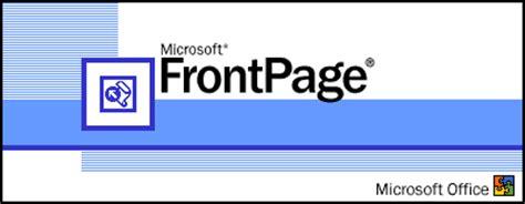 dreamweaver vs frontpage design software reviews