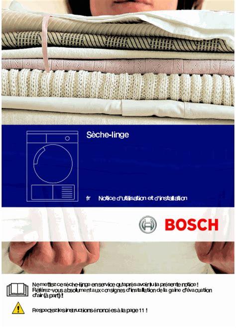 bosch wtv74100ff maxx 7 sensitive mode d emploi notice d utilisation manuel utilisateur