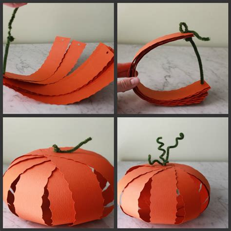 paper pumpkin craft paper pumpkin pumpkins and pumpkin crafts on