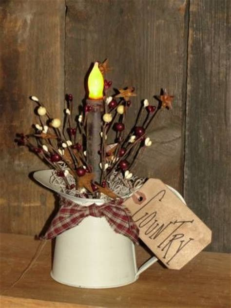 primitive craft projects small primitive water can tin light primitive craft