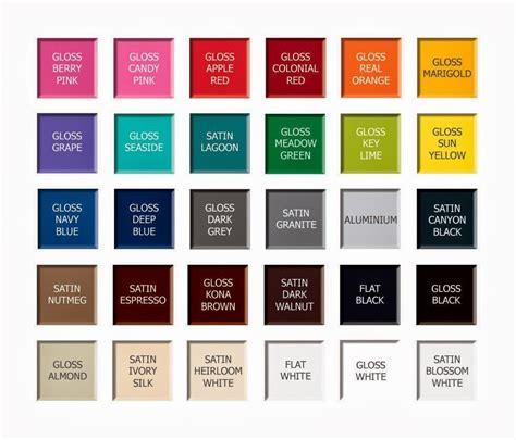 paint colors rustoleum rust oleum spray paint color chart myideasbedroom