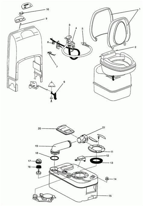 Thetford Toilet Electric Flush Problem by Thetford Rv Toilet Diagram Wiring Imageresizertool