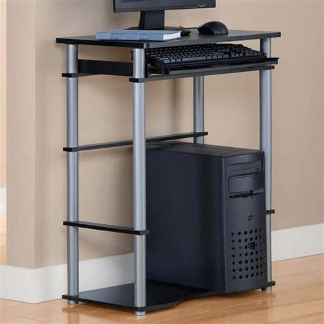 family dollar computer desk mainstays computer desk black walmart
