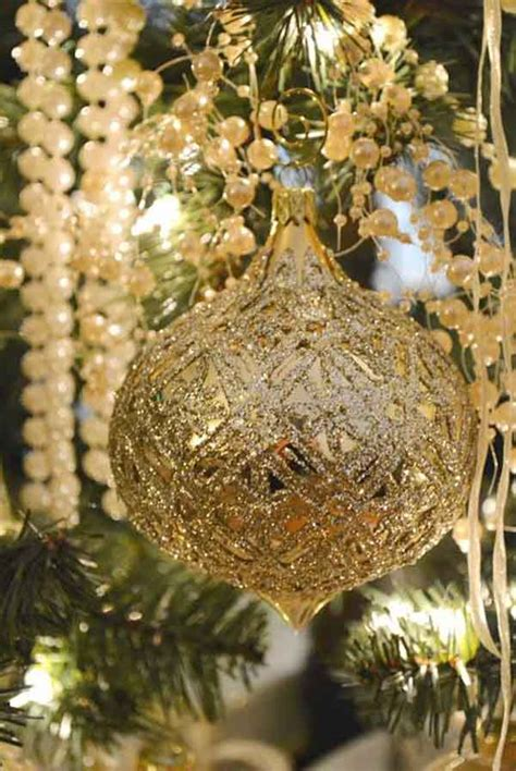 tree decorations and gold gold decoration ideas celebrations