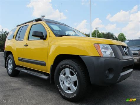 xterra paint colors 2006 solar yellow nissan xterra s 63243458 gtcarlot
