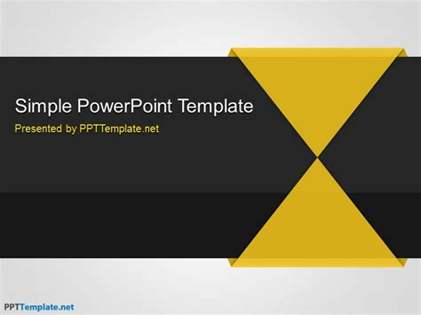 templates free free simple ppt template