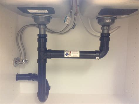 installing kitchen sink drain kitchen sink installation callaway plumbing and drains ltd