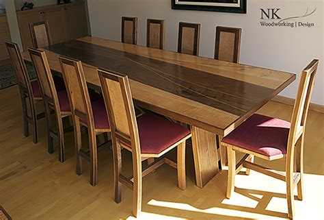 custom dining room sets custom dining room set by nk woodworking nk woodworking