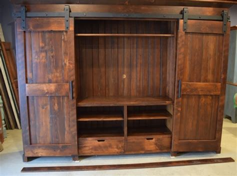 entertainment cabinets with doors barn door entertainment cabinets farmhouse