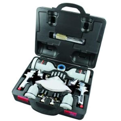 home depot paint spray guns husky hvlp and standard gravity feed spray gun kit