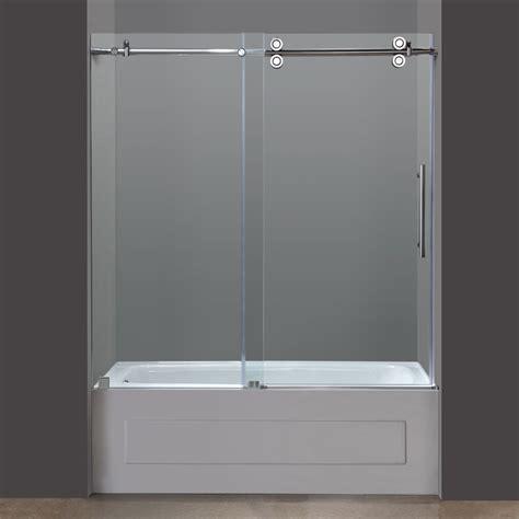 sliding glass shower doors tub sliding glass shower doors tub