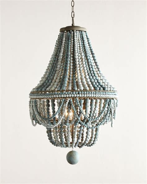 how to make a bead chandelier malibu beaded 6 light chandelier everything turquoise