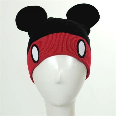 mickey mouse knit hat disney mickey mouse knit acrylic beanie hat novelty hats