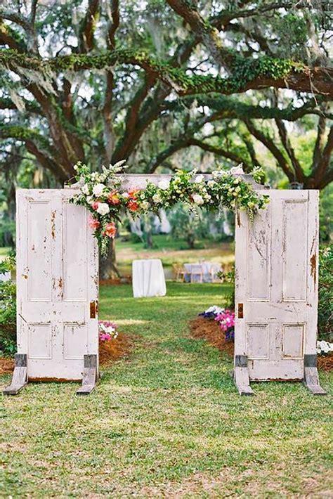 rustic outdoor decorations 1000 ideas about outdoor wedding doors on