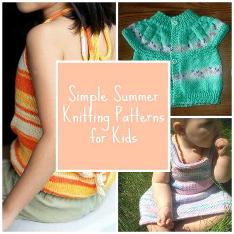 summer knitting ideas 16 simple summer knitting patterns for