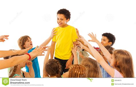 most popular the most popular kid in class stock photo image 59048670