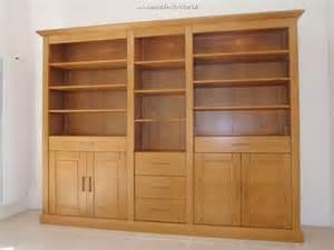 biblioth 232 que moderne en bois massif biblioth 232 que en ch 234 ne naturel sur mesure am 233 nagement