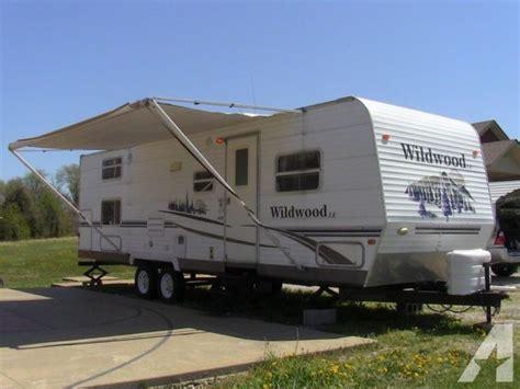 bunk beds ky 2006 wildwood 28 foot travel trailer with bunk beds