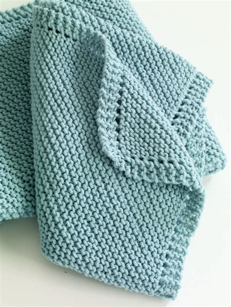 easy knit baby blanket serenity knits