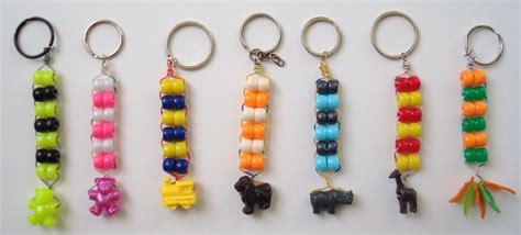 how to make beaded keychains for beaded keychains crafts
