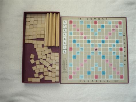 antique scrabble board vintage scrabble scrabble crossword by wenziplace