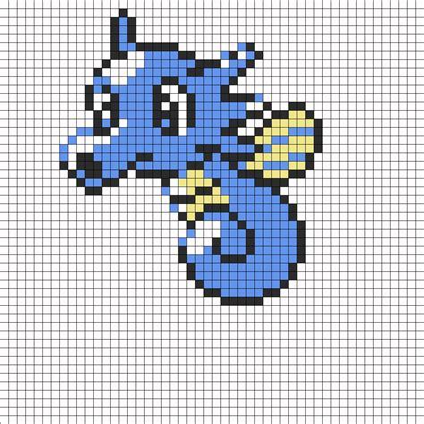 perler bead sprites horsea sprite perler bead pattern bead sprites