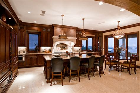 kitchen dining room design luxury kitchen and dining room design with
