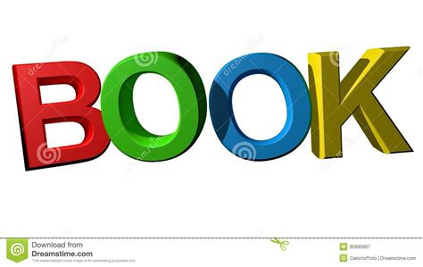 picture word book colorful book royalty free stock photography image 35995907
