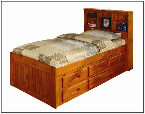 size captains bed size captains bed size bed with trundle and