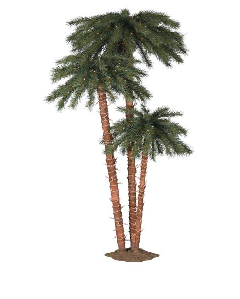 small lighted palm tree palm trees treetopia