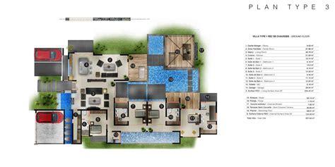 villa plan les villas intemporelles plans des villas