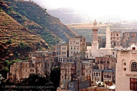 pictures of travel pictures gallery yemen 0018 the town of jibla