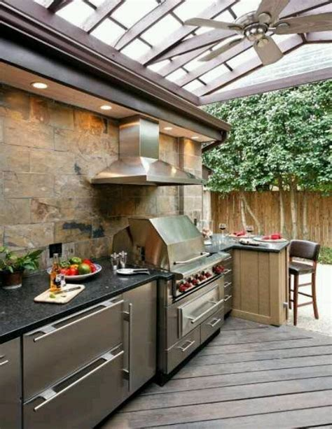 outside kitchen design ideas 56 cool outdoor kitchen designs digsdigs