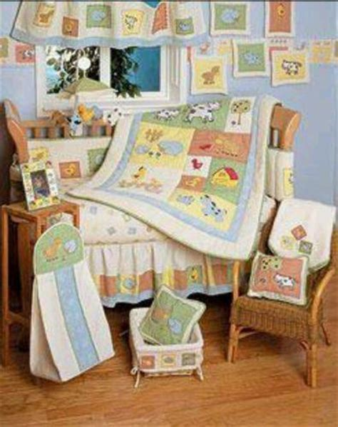 farm animal crib bedding farm animal baby bedding ebay