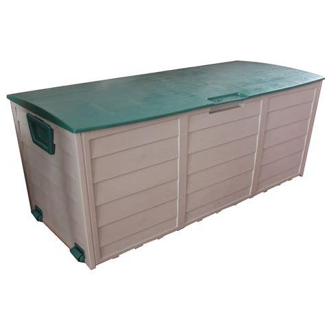 plastic patio storage boxes plastic storage chest gsc sl3500 storage locker black with latches 33x19 inch