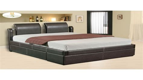 bed with drawers platform bed with drawers south shore soho fullqueen