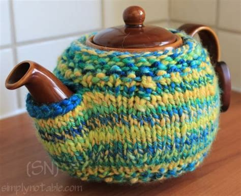 knitted teapot covers a perfectly fitted pot simply notable