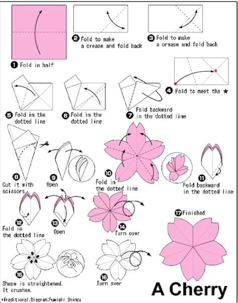 how to do flower origami origami