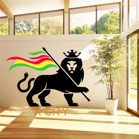 rasta door popular rasta wall stickers buy cheap rasta wall stickers