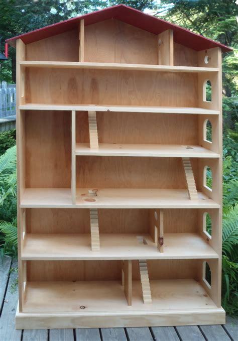 dollhouse woodworking plans build wooden dollhouse plans free diy pdf box designs