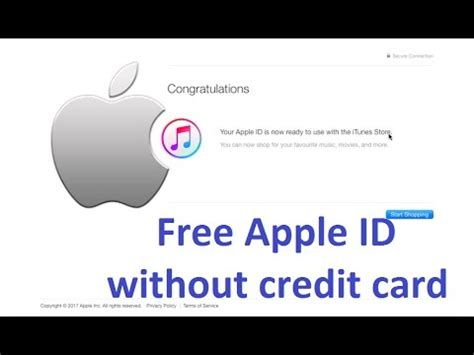 can i make apple id without credit card create free apple id without credit card working 100