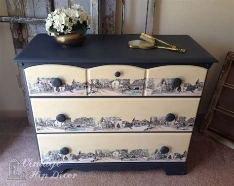 how to decoupage furniture with paper 279 best decoupage furniture images on painted