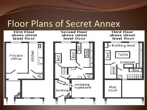 pics for gt frank secret annex floor plan