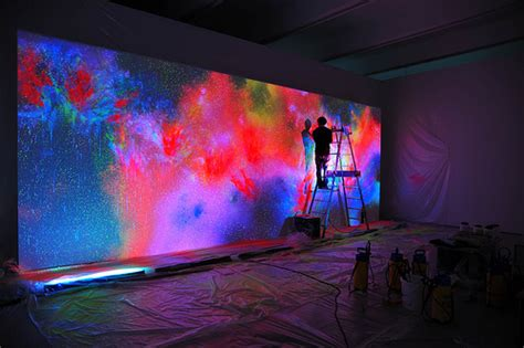glow in the paint for wall neon lights by paulene whi