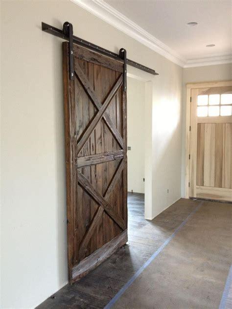 barn door wood x pattern wood sliding barn door porter