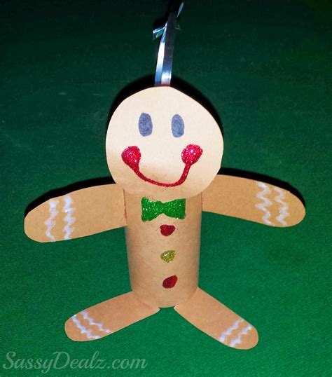 gingerbread crafts for gingerbread toilet paper roll craft for